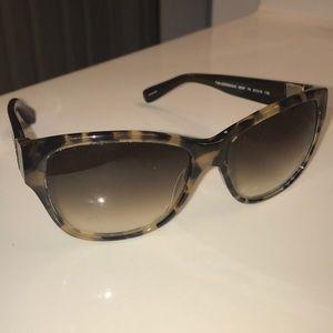 Bobbi brown brown tortoise shell sunglasses